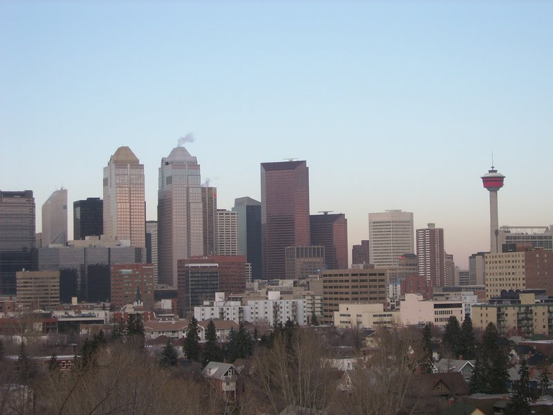 Calgary skyline
